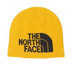 The North Face Highline Beanie Summit Gold / TNF Black