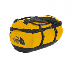 The North Face Base Camp Duffel Small Summit Gold / TNF Black