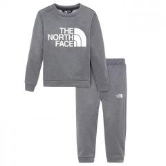 The North Face Toddler Surgent Crew 2-Piece Set Asphalt Grey