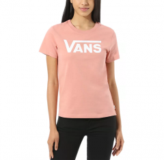 Vans Womens Flying V Crew Tee Rose Dawn