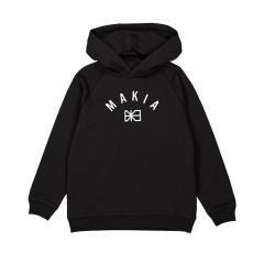 Makia Kids Brand Hooded Sweatshirt Black