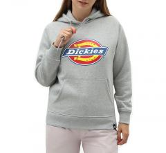 Dickies Womens San Antonio Hoodie Grey Melange