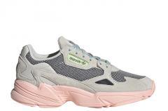 Adidas Womens Falcon Talc / Haze Coral / Green Tint
