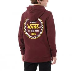 Vans Youth Checker 66 Hoodie Port Royale