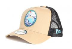 New Era Outdoors A-Frame Trucker Brown