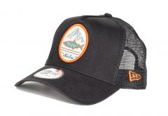 New Era Outdoors A-Frame Trucker Black