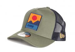 New Era Location Green A-Frame Trucker Hawaii
