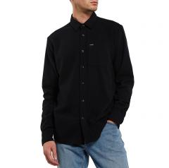 Volcom Caden Solid Shirt Black