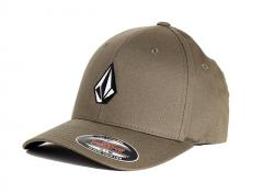Volcom Full Stone XFit Cap Covert Green