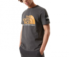 The North Face Fine Alpine 2 Tee Aspahlt Grey