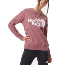 The North Face Womens Standard Crew Mesa Rose