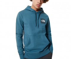 The North Face Blackbox Logo Hoodie Mallard Blue