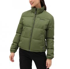 Dickies Womens Rodessa Puffa Jacket Army Green