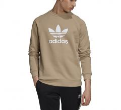 Adidas Originals Trefoil Warm-Up Crew Sweatshirt Trace Khaki
