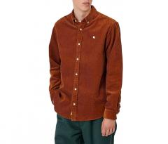 Carhartt WIP L/S Madison Cord Shirt Brandy / Wax