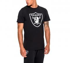 New Era Oakland Raiders Team Logo Tee Black