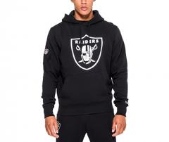 New Era Oakland Raiders Team Logo Hoodie Black