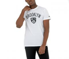 New Era Brooklyn Nets Tee White
