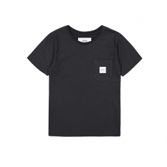 Makia Kids Pocket T-Shirt Black