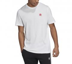 Adidas Originals Trefoil Essentials Tee White / Scarlet