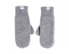 ISLA Merino Mittens Grey