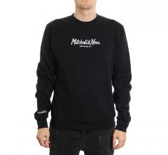 Mitchell & Ness Pinscript Crew Black