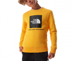 The North Face Youth Box Crew Summit Gold