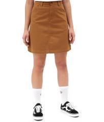 Dickies Womens Shongaloo Skirt Brown Duck