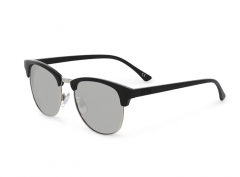 Vans Dunville Sunglasses Matte Black / Silver Mirror