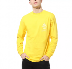 Vans 66 Supply Long Sleeve T-Shirt Lemon Chrome