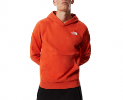 The North Face Raglan Redbox Hoodie Burnt Ochre
