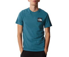 The North Face Blackbox Logo Tee Mallard Blue