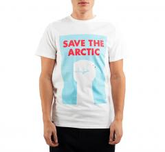 Dedicated Stockholm Save The Arctic T-Shirt White