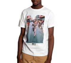 Dedicated Stockholm Rocky Run T-Shirt White