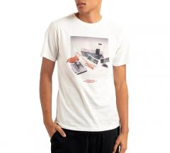 Dedicated Stockholm NES Consol T-Shirt Off White