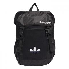 Adidas Originals Premium Essentials Toploader Backpack Black / MGH Solid Grey