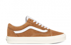 Vans Old Skool Pig Suede Brown Sugar / Snow White