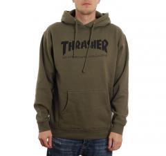 Thrasher Skate Mag Hoodie Army