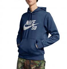 Nike SB Icon Hoodie Mystic Navy / Vast Grey