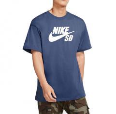 Nike SB Logo Skate Tee Mystic Navy