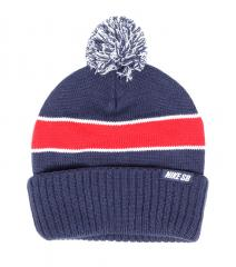 Nike SB Skate Beanie Midnight Navy / University Red