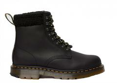 Dr Martens 1460 DM's Wintergrip Leather Collar Ankle Boots Black
