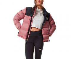 The North Face Womens 1996 Retro Nuptse Jacket Mesa Rose