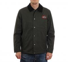 Makia x Rapala Minnow Jacket Dark Green