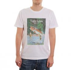 Makia x Rapala Kneedeep T-Shirt White