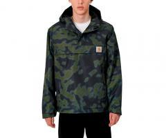 Carhartt WIP Nimbus Pullover Jacket Camo Blur / Green