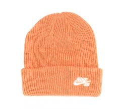 Nike SB Fisherman Beanie Mystic Healing Orange / White