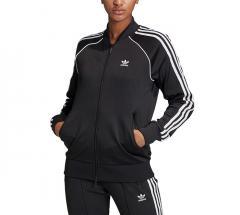 Adidas Originals Womens Primeblue SST Track Jacket Black / White