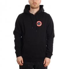 Boardvillage Wave Hoodie Black / Red