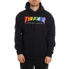 Thrasher Rainbow Mag Hoodie Black